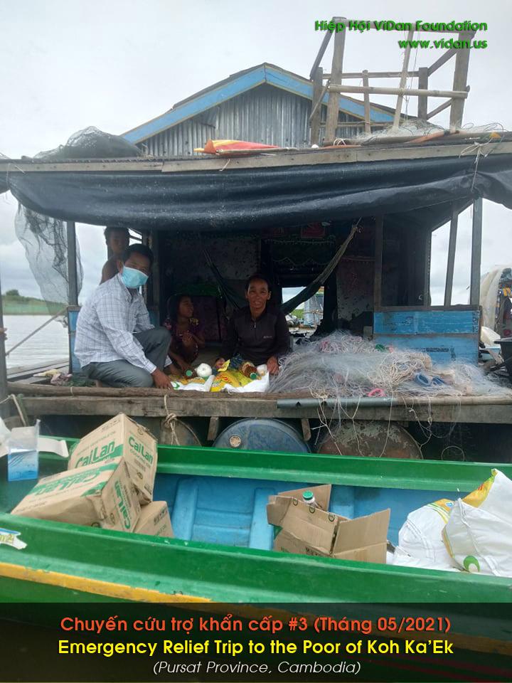 Hình ảnh chuyến cứu trợ ở vùng Koh Ka'Ek